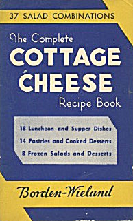 Borden Complete Cottage Cheese Recipe Book
