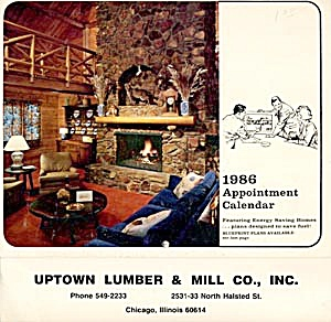 Uptown Lumber & Mill Co., Inc. Calendar