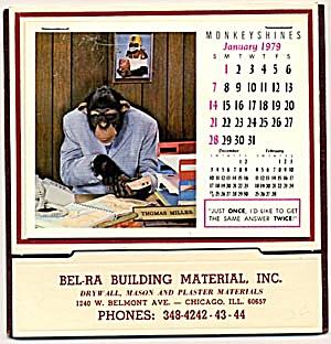 Monkey Shines 1979 Calendar (Image1)