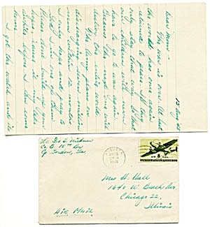 World War II Envelopes and Letters (Image1)