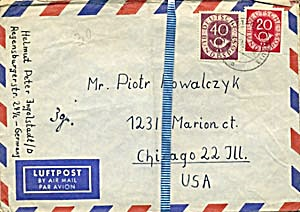 Vintage 30 Envelopes Only From Poland (Image1)