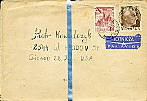 Vintage 1950s 30 Envelopes Only (Image1)