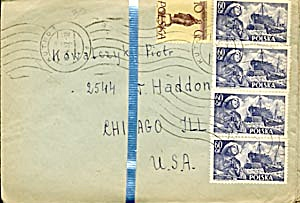 Vintage Stamped 30 Envelopes Only (Image1)