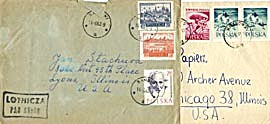 Vintage 32 Envelopes with Stamps & Letters (Image1)