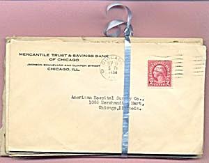 Vintage 1934 Envelopes Set of 27 (Image1)