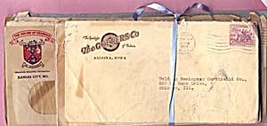 Vintage 26  Circa 1934 Envelopes (Image1)