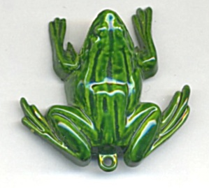 Vintage Metal Frog Clicker Dog Training Tool