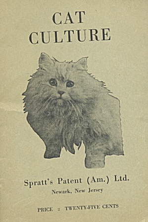 Vintage Cat Culture Pamphlet