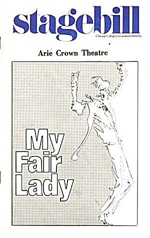 "Stagebill/paybill: ""my Fair Lady"""