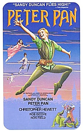 Advertising Sheet For Peter Pan