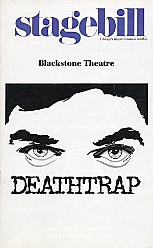 """Stagebill/Playbill: """"Deathtrap""""1979 (Image1)"""