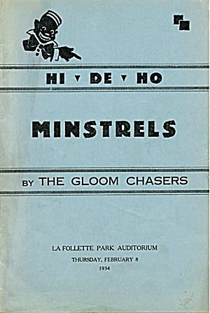 Vintage Minstrel Program