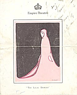 The Lilac Domino Operetta Program (Image1)