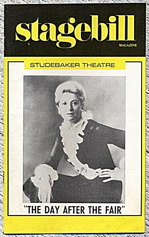 "Stagebill/playbill: ""the Day After The Fair"""