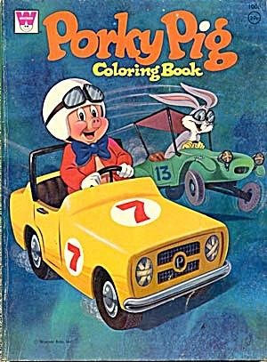 Vintage Porky Pig Coloring Book 1972 (Image1)