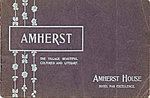 Vintage Pictures and Booklets on Amherst Mass. (Image1)