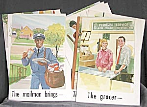 Vintage 1969 Teacher's Learning Cards (Image1)