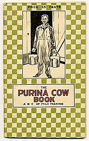 Vintage 1921 Ralston Purina Cow Book (Image1)