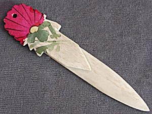 Vintage Flower Bookmark (Image1)