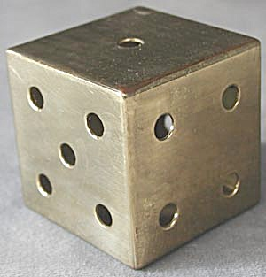German Brass Die Paperweight
