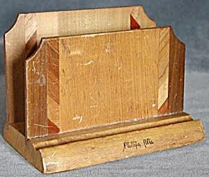Vintage Souvenir Letter Holder (Image1)