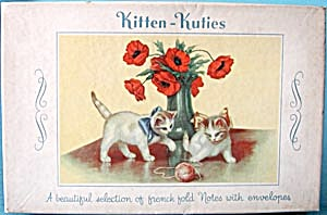 Vintage Kitten Card Box (Image1)