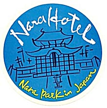 Vintage Luggage Label: Nara Park Hotel Japan (Image1)