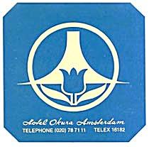 Vintage Luggage Label: Hotel Okura Amsterdam (Image1)