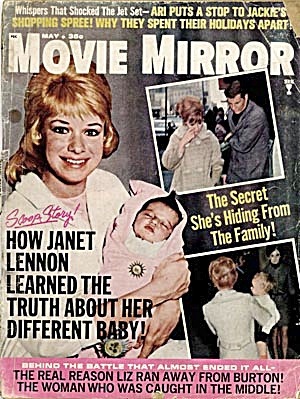 Vintage Movie Mirror Magazine Elvis Senatra