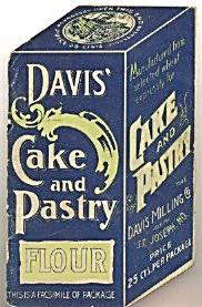 Vintage DAVIS Cake & Pastry Flour Pamphlet (Image1)