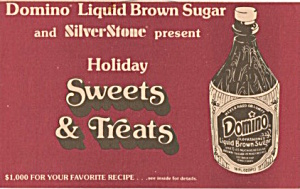 Domino Liquid Brown Sugar And Silverstone Present
