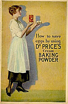 How To Serve Eggs Using Dr. Price's Cream Baking Powder