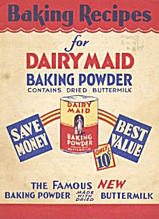 Baking Recipes For Dairy Maid Baking Powder