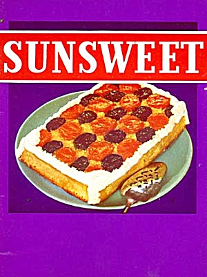 Vintage Cookbook: Sunsweet