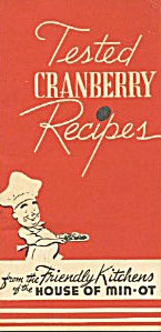 Tested Cranberry Recipes From Friendly Kitchens Minot