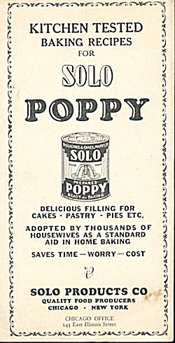 Kitchen Tested Baking Recipes For Solo Poppy