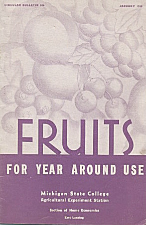 Fruits For Year Around Use