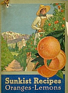 Sunkist Recipes Oranges-lemons Rare