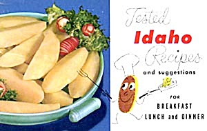 Vintage Tested Idaho Recipes Potatoes And Onions