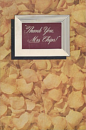 Thank You, Mrs. Chips