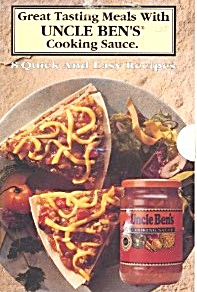 Great Tasting Meals With Uncle Ben's Cooking Sauce