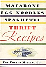 Macaroni Egg Noodles Spaghetti Thrift Recipes