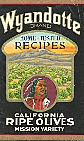Wyandotte Ripe Olive Recipes