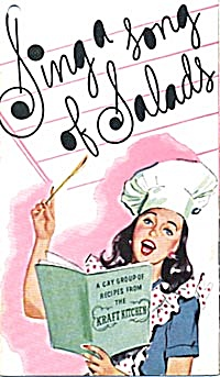 Sing a Song of Salads a Gay Group of Recipes From Kraft (Image1)