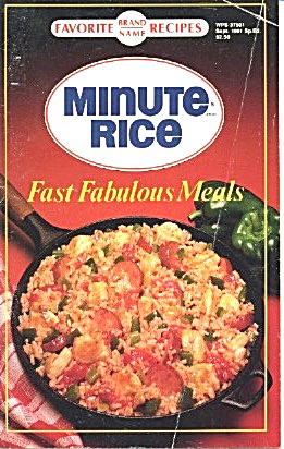 Minute Rice Fast Fabulous Meals