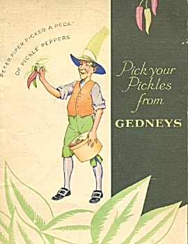 Pick Your Pickles From Gedneys