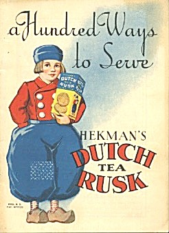 A Hundred Ways To Serve Hekman's Dutch Tea Rusk