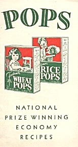Pops National Prize Winning Economy Recipes