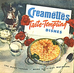 Creamettes Taste-tempting Dishes