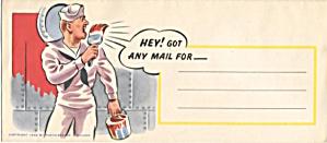 WWII Navy Envelope (Image1)